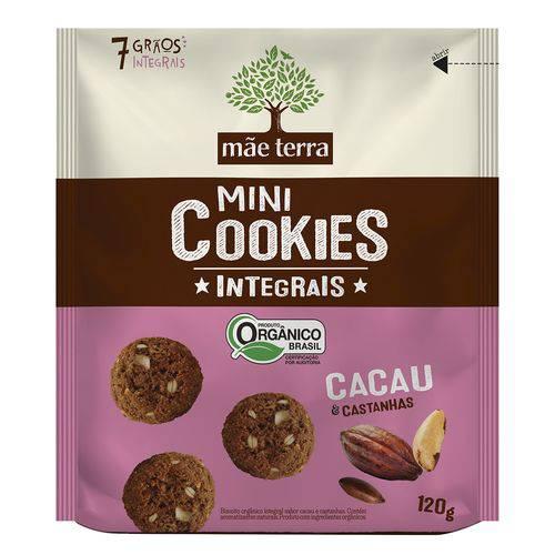 Mini Cookies Orgânicos Integrais - Mãe Terra - 120g