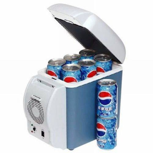 Mini Cooler Geladeira para Carro 7,5l Portátil 12v Camping Viagem