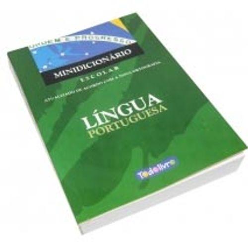 Mini Dicionário Português Todolivro 1002250