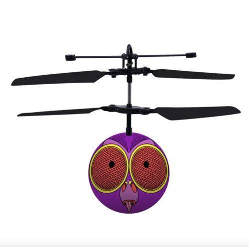 Mini Drone Inseto Voador Zumbidoz Dtc Modelo:4 - Mozcatão Roxo