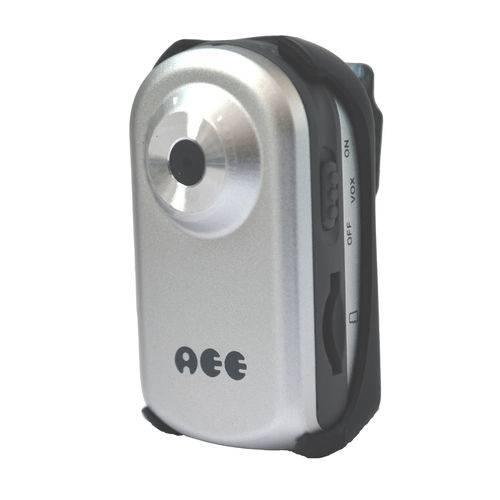 Mini DV - Câmera Portátil para Esportes Radicais Cor Prata