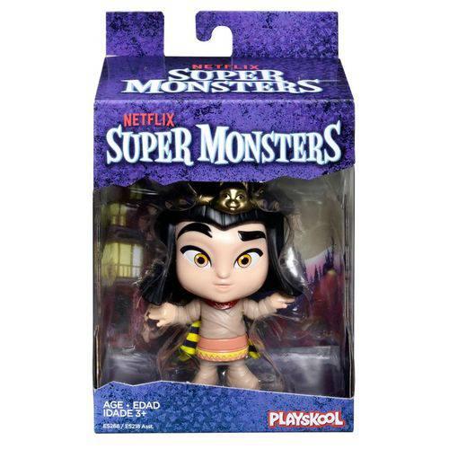 Mini Figura - 10 Cm - Playskool -Super Monsters - Cleo - Hasbro