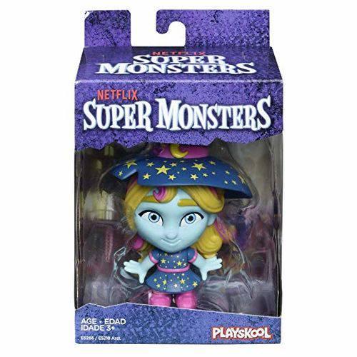Mini Figura - 10cm - Playskool - Super Monsters - Katya - Hasbro