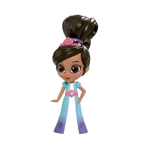 Mini Figura 5 Cm - Nella - uma Princesa Corajosa - Nella - Dtc
