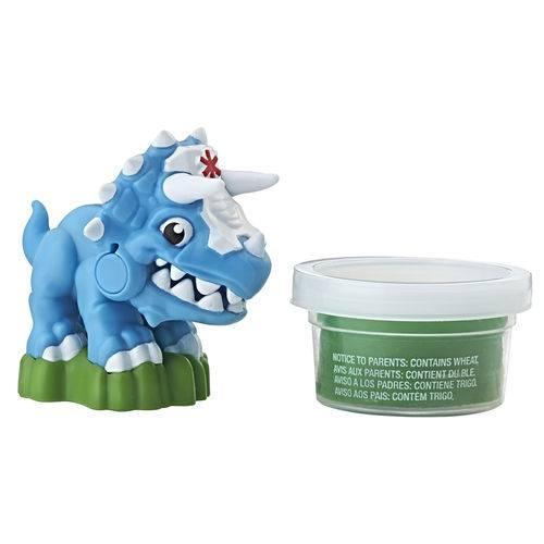 Mini Figura - Playskool Heroes - Chomp Squad - Doc Tops - Hasbro