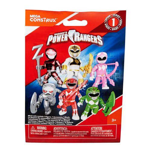 Mini Figura Power Rangers - Mattel Dpk62
