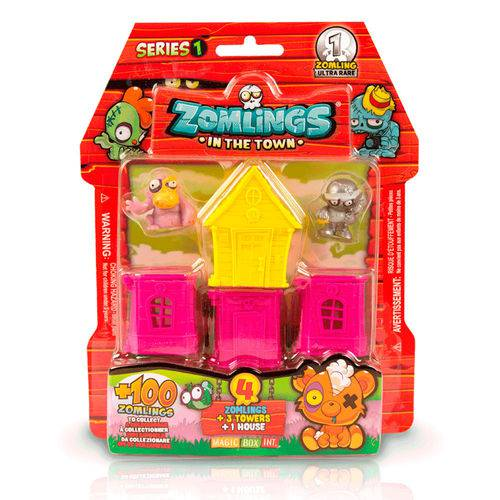Mini Figuras Sortidas - Zomlings - Bairro Zombie - Fun