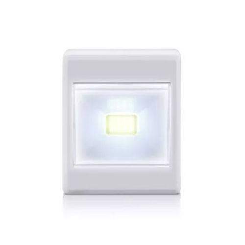Mini Luminaria Botao Led Portatil 3 W