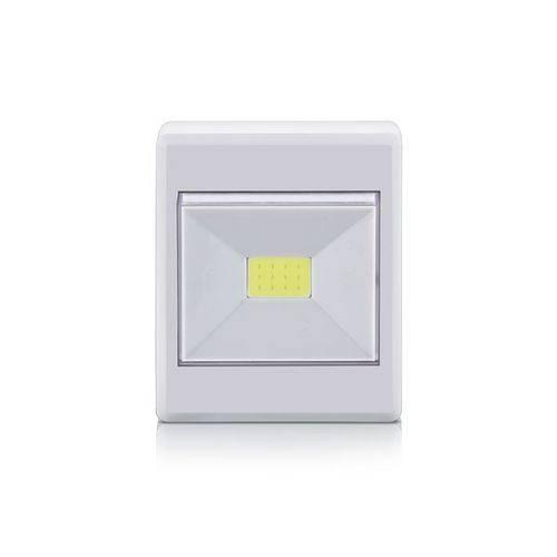 Mini Luminária de Botão Led 3w Portátil - Elgin
