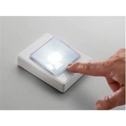 Mini Luminaria Led de Toque Grande Elgin 120 Lumens 3w para Closets, Armario, Escadas, Acampamentos