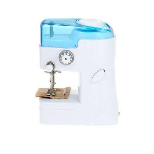 Mini Máquina de Costura Portátil + Agulha para Reposição