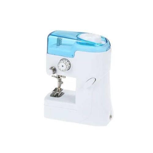 Mini Maquina de Costura Portatil + Agulha para Reposição