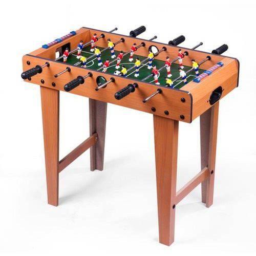 Mini Mesa Pebolim/Totó com Pés e 18 Jogadores