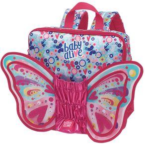 Mini Mochila Baby Alive Butterfly - P