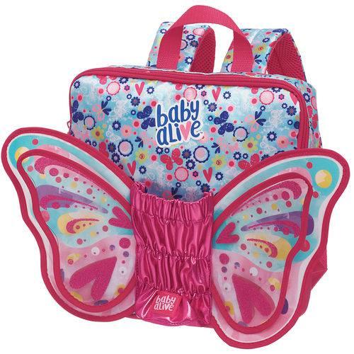 Mini Mochila Baby Alive Butterfly