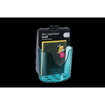 Mini Organizador Glass 10,4 X 5,6 X 9 Cm Verde Coza