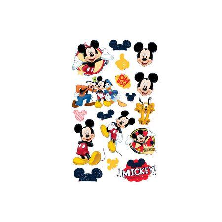 Mini Personagens Mickey Clássico Mini Personagens Decorativos Mickey Clássico - 17 Unidades