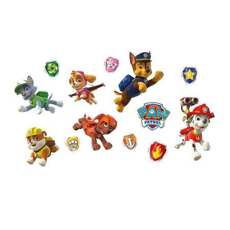 Mini Personagens Patrulha Canina Mini Personagens Decorativos Patrulha Canina - 13 Unidades