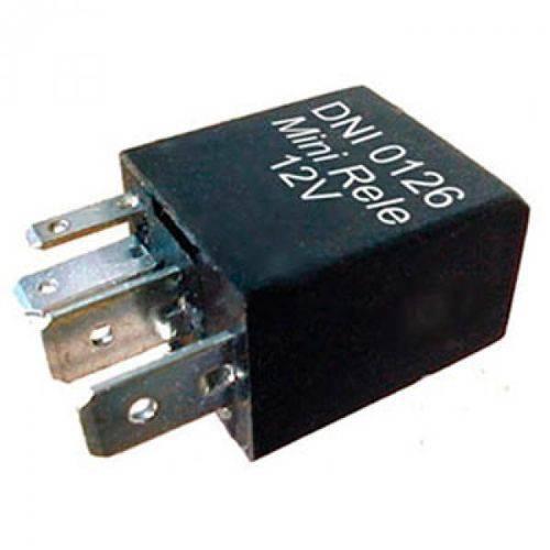 Mini Relé Controle Ar Condicionado Ventilador Radiador 4 Terminais 12v 30/20a 2 Largos com S