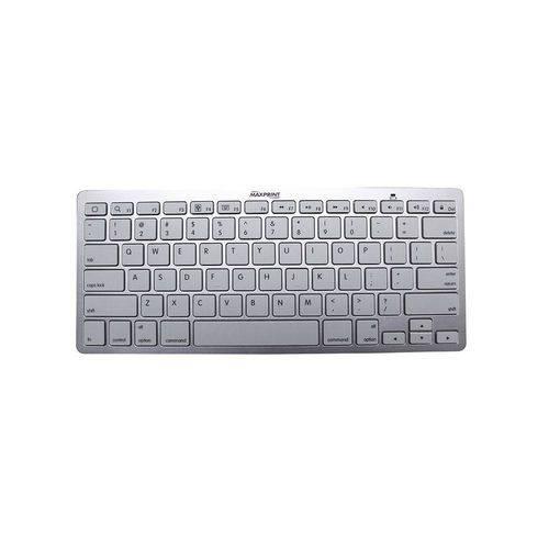 Mini Teclado Bluetooth 6011262 Prata - Maxprint