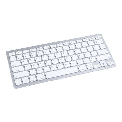 Mini Teclado Bluetooth Prata Ref 6011262 - Maxprint
