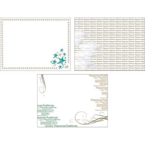 Mini Transparência Pequenas Histórias Mt04 - Toke e Crie By Flavia Terzi