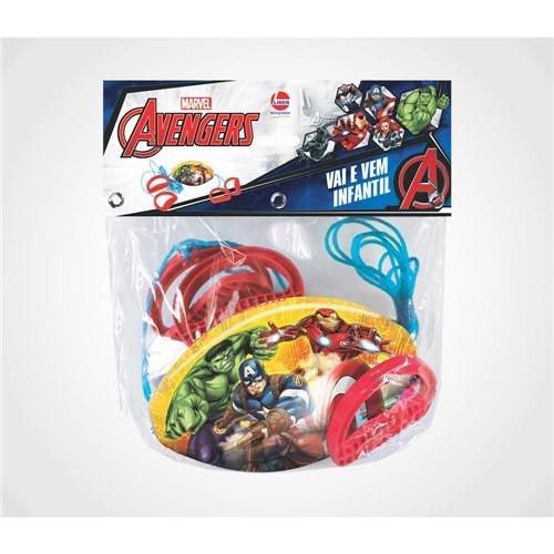 Mini Vai e Vem Infantil Avengers LIDER