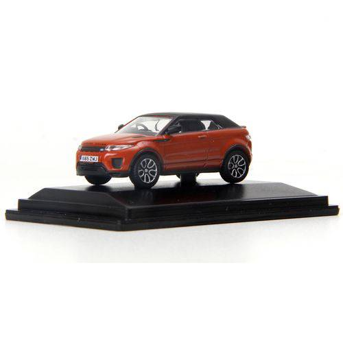 Miniatura - 1:76 - Range Rover Evoque Convertible - Phoenix Orange - Oxford