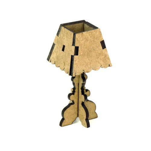 Miniatura LASER MDF - REF.1371 - Abajur