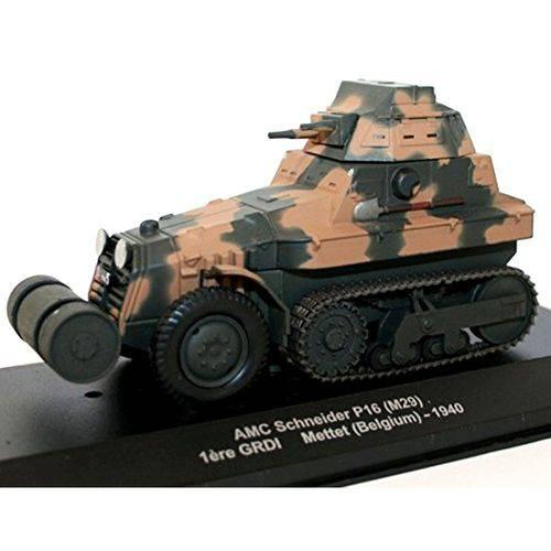 Miniatura Tanque Amc Schneider P16 1940 Verde Ixo 1/43