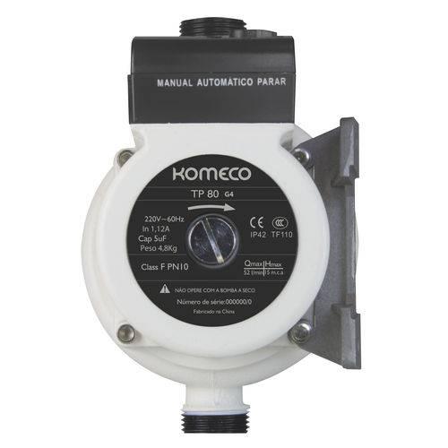 Minibomba Pressurizadora Agua Tp80 Komeco 127v