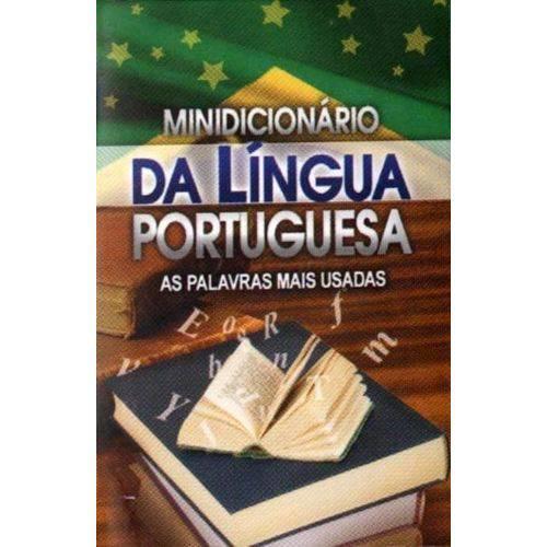 Minidicionário da Língua Portuguesa - as Palavras Mais Usadas - Minilivro