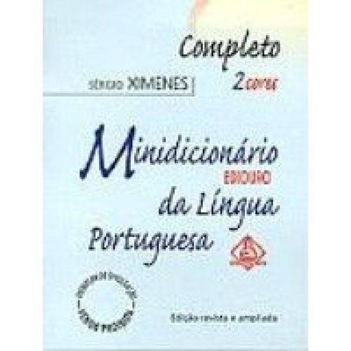 Minidicionario Ediouro da Lingua Portuguesa - 1