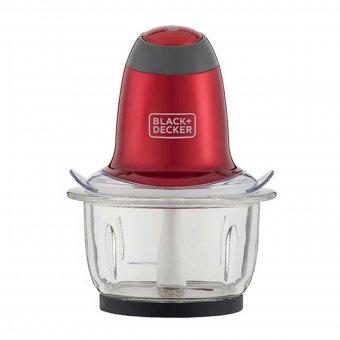 Miniprocessador Black Decker Vermelho MP200V | Automação Global