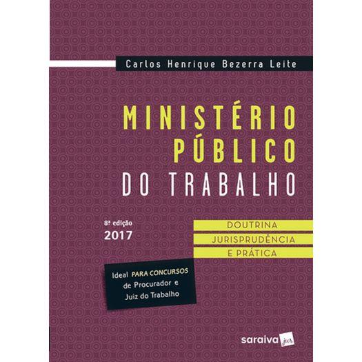 Ministerio Publico do Trabalho - Saraiva