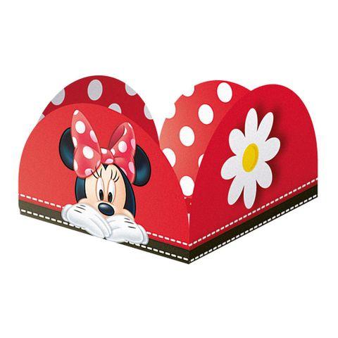 Minnie Red Porta Forminha C/50 - Regina