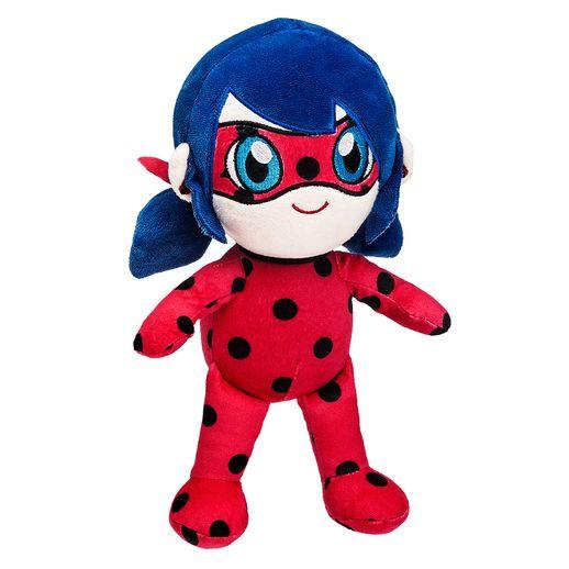 Miraculous Pelúcia Ladybug Chibi - Fun Divirta-se