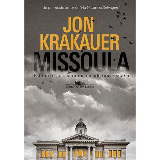 Missoula - Cia das Letras