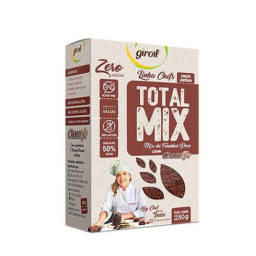 Mix de Farinha Doce com Chocolife Total Mix By Chef Tuca - Giroil - 250g