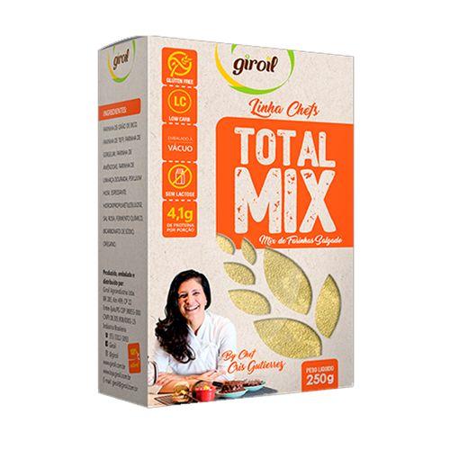 Mix de Farinhas Salgado Low Carb Total Mix - Giroil - 250g