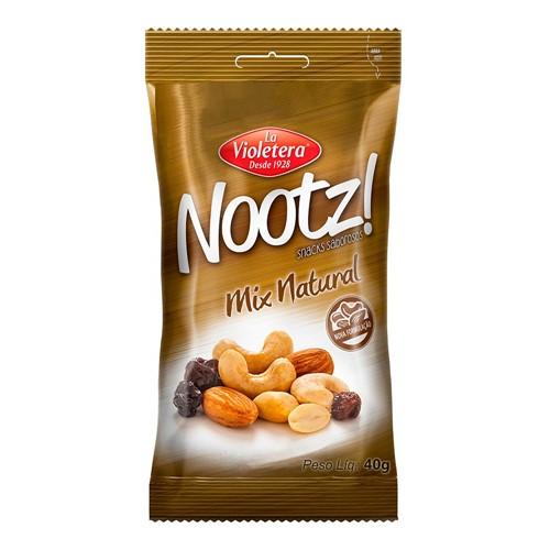 Mix Natural La Violetera Nootz! com 40g