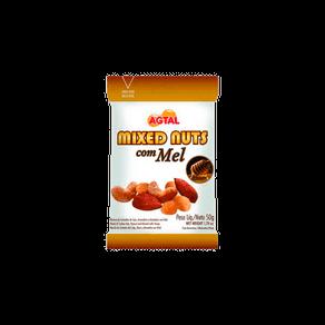 Mixed Nuts Agtal com Mel 50g