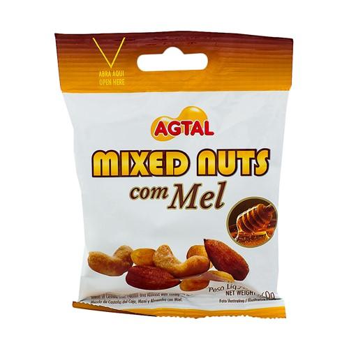 Mixed Nuts com Mel Agtal com 50g