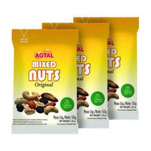 Mixed Nuts Original 50g Agtal &Joy (20 Unidades)