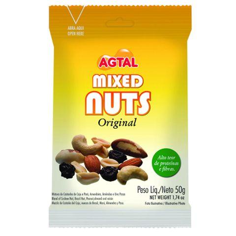 Mixed Nuts Original 50g - Agtal