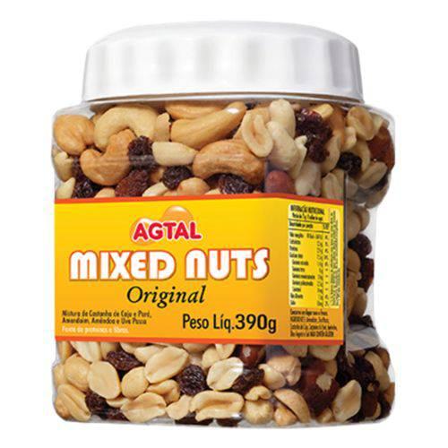 Mixed Nuts Original Agtal 390g