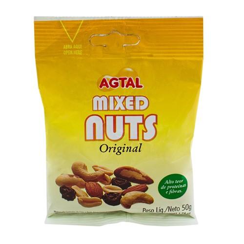 Mixed Nuts Original Agtal com 50g