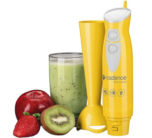Mixer Cadence Fast Blend Colors Amarelo - 127V