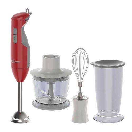 Mixer Delight 3 em 1 C/ Batedor 250w Vermelho 220v - Oster