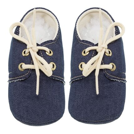 Mocassim para Bebe Jeans - Roana